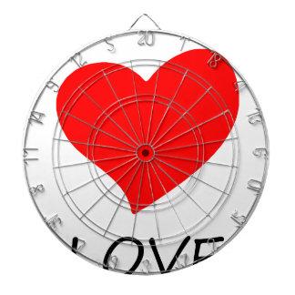 peace love14 dartboard