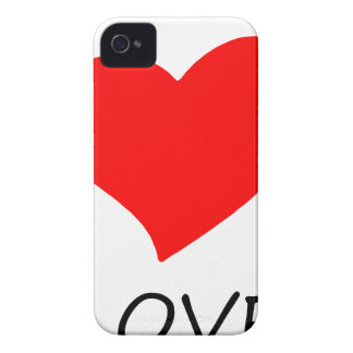 peace love14 iPhone 4 cover