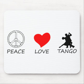 peace love14 mouse pad