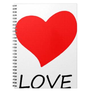 peace love14 notebook