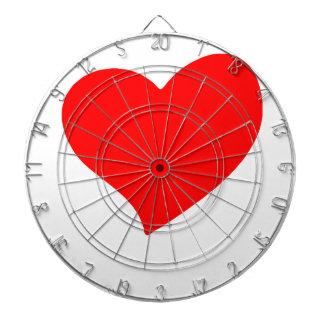 peace love15 dartboard
