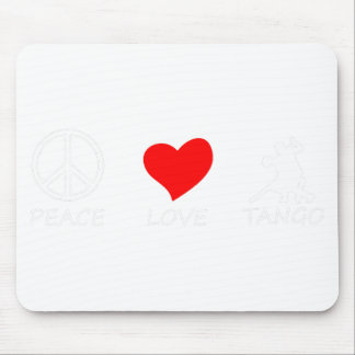 peace love15 mouse pad