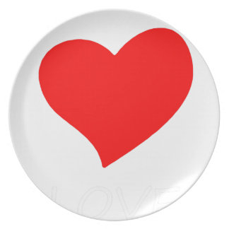 peace love15 plate