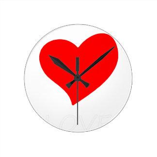 peace love15 round clock