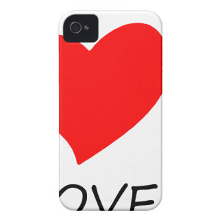 peace love16 iPhone 4 cover