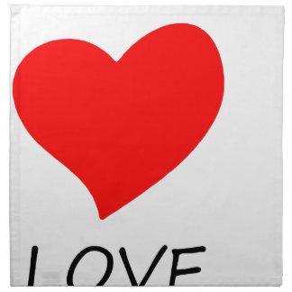 peace love16 napkin