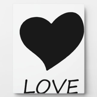 peace love18 plaque