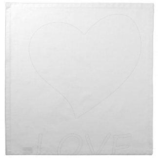 peace love19 napkin