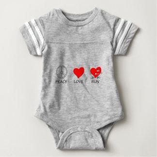 peace love20 baby bodysuit