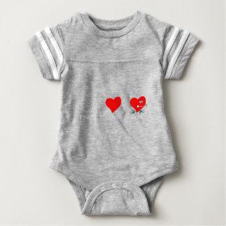 peace love21 baby bodysuit
