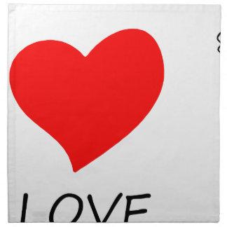 peace love22 napkin