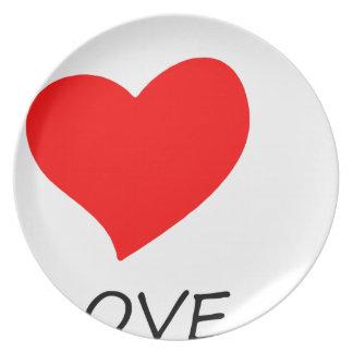 peace love22 plate