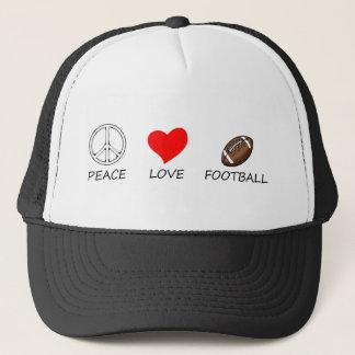 peace love24 trucker hat