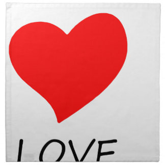 peace love25 napkin