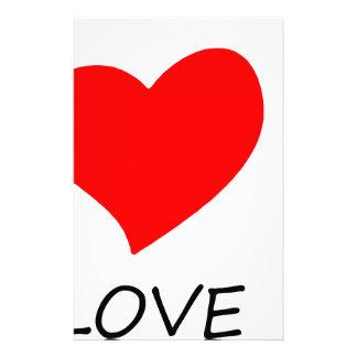peace love25 stationery