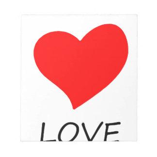 peace love26 notepad