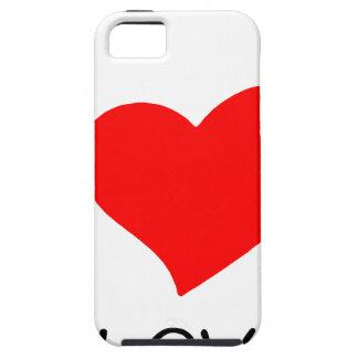 peace love27 iPhone 5 case