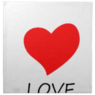 peace love27 napkin