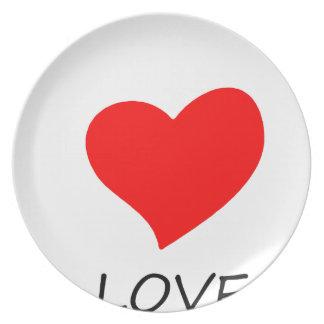 peace love27 plate