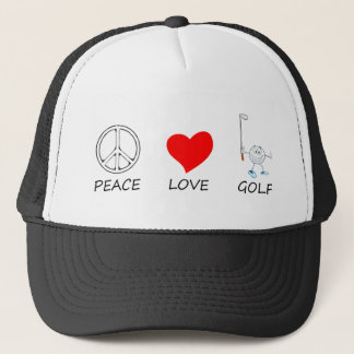 peace love27 trucker hat