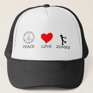peace love29 trucker hat
