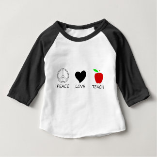peace love2 baby T-Shirt
