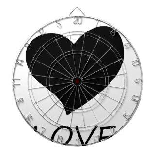 peace love2 dartboard