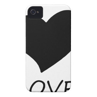 peace love2 iPhone 4 case