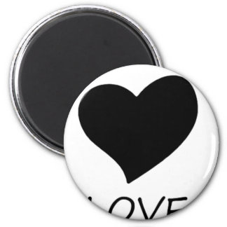 peace love2 magnet