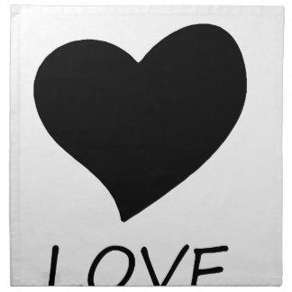peace love2 napkin