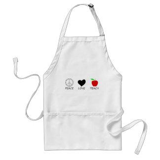 peace love2 standard apron