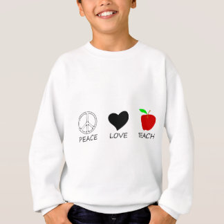 peace love2 sweatshirt
