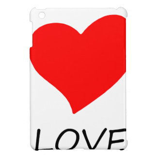 peace love33 case for the iPad mini