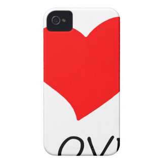 peace love33 Case-Mate iPhone 4 case