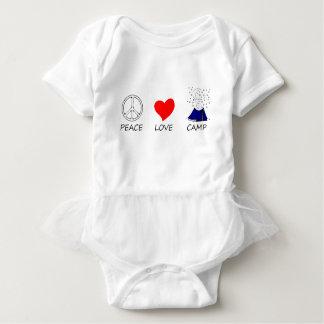 peace love35 baby bodysuit