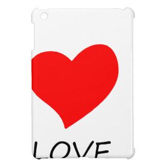 peace love35 iPad mini cover