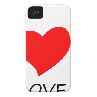 peace love35 iPhone 4 case