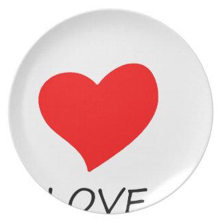 peace love35 plate