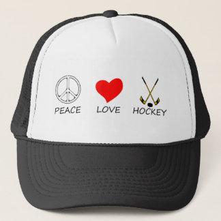 peace love36 trucker hat