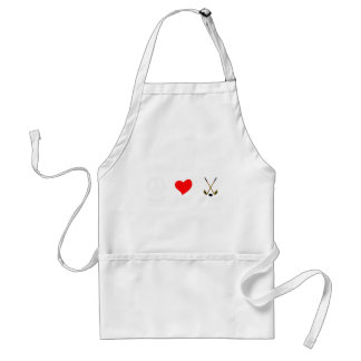 peace love37 standard apron