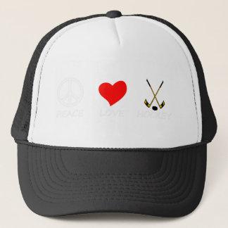 peace love37 trucker hat