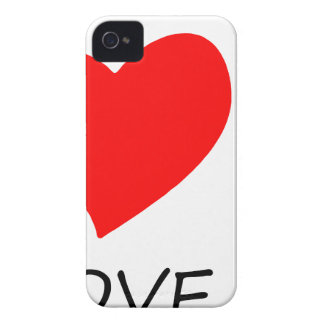 peace love38 Case-Mate iPhone 4 cases