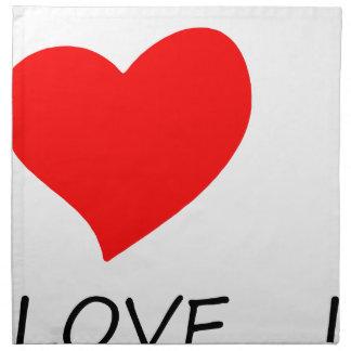 peace love38 napkin