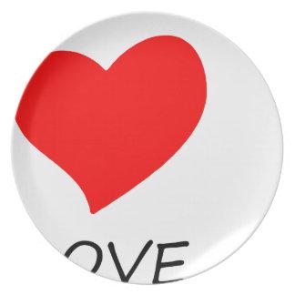 peace love38 plate