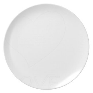 peace love39 plate