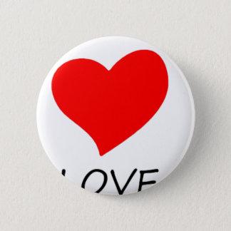 peace love3 2 inch round button