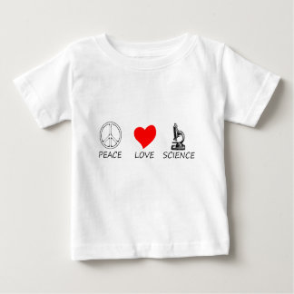 peace love3 baby T-Shirt