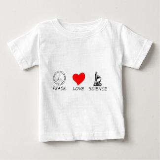 peace love3 baby T-Shirt