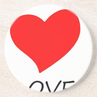 peace love3 coaster