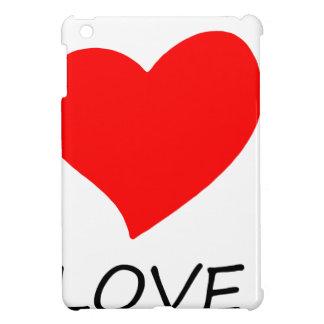 peace love3 cover for the iPad mini